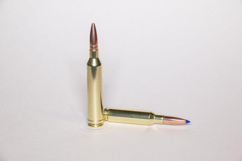 .264 Winchester Magnum ammo.