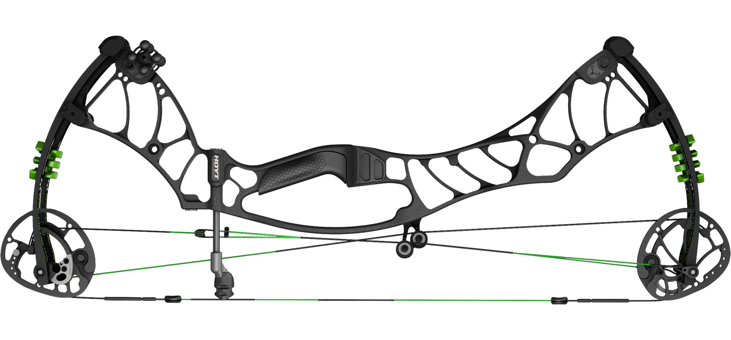 The Hoyt Helix Turbo compound bow.