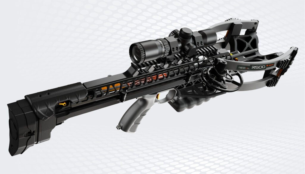 The Ravin R500 is the fastest crossbow from Ravin.