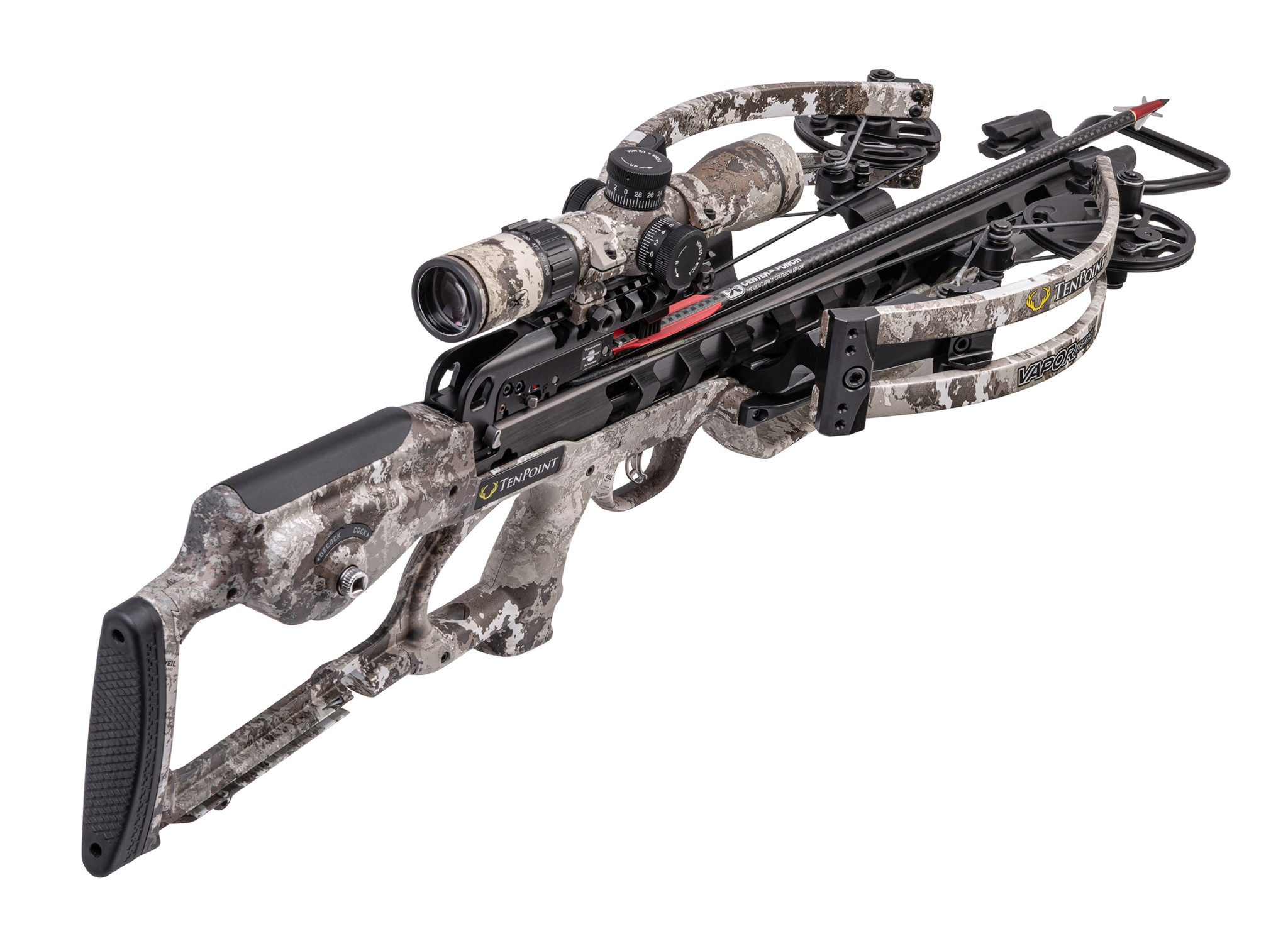 The TenPoint Vapor RS470 is the fastest crossbow from TenPoint.