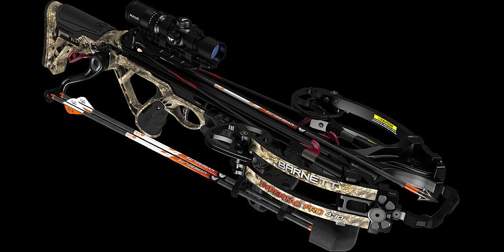 The Barnett HyperTac Pro 430 is the fastest crossbow from Barnett