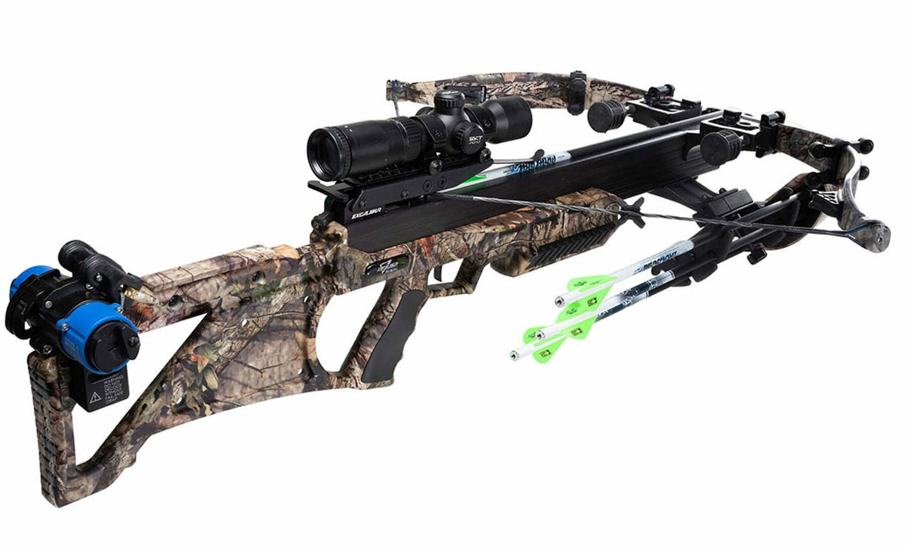 The Excalibur Bulldog 440 is one of the fastest crossbow models for a recurve crossbow.