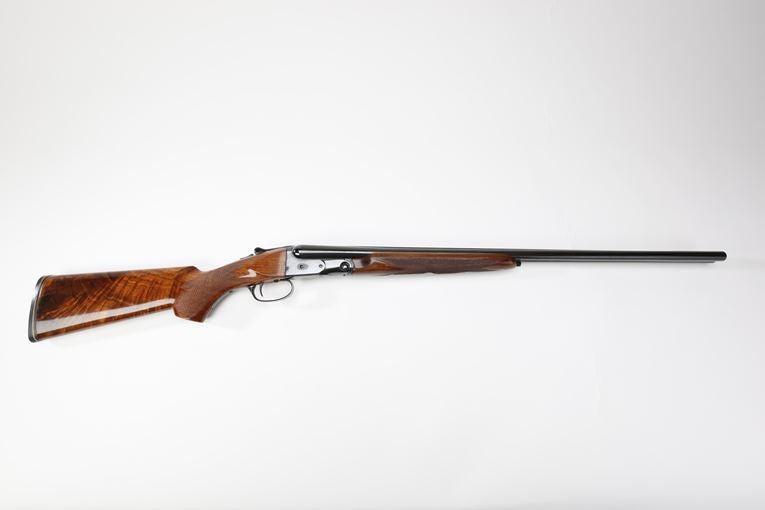 A Remington-made Parker shotgun.
