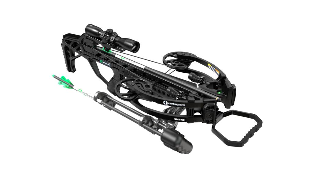 The Wrath 430 is the fastest crossbow for youth hunters.