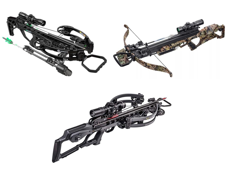 three crossbows
