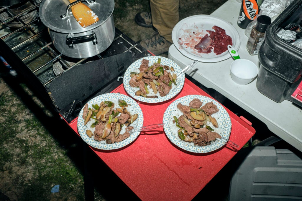 wild game cooking with jackrabbit meat