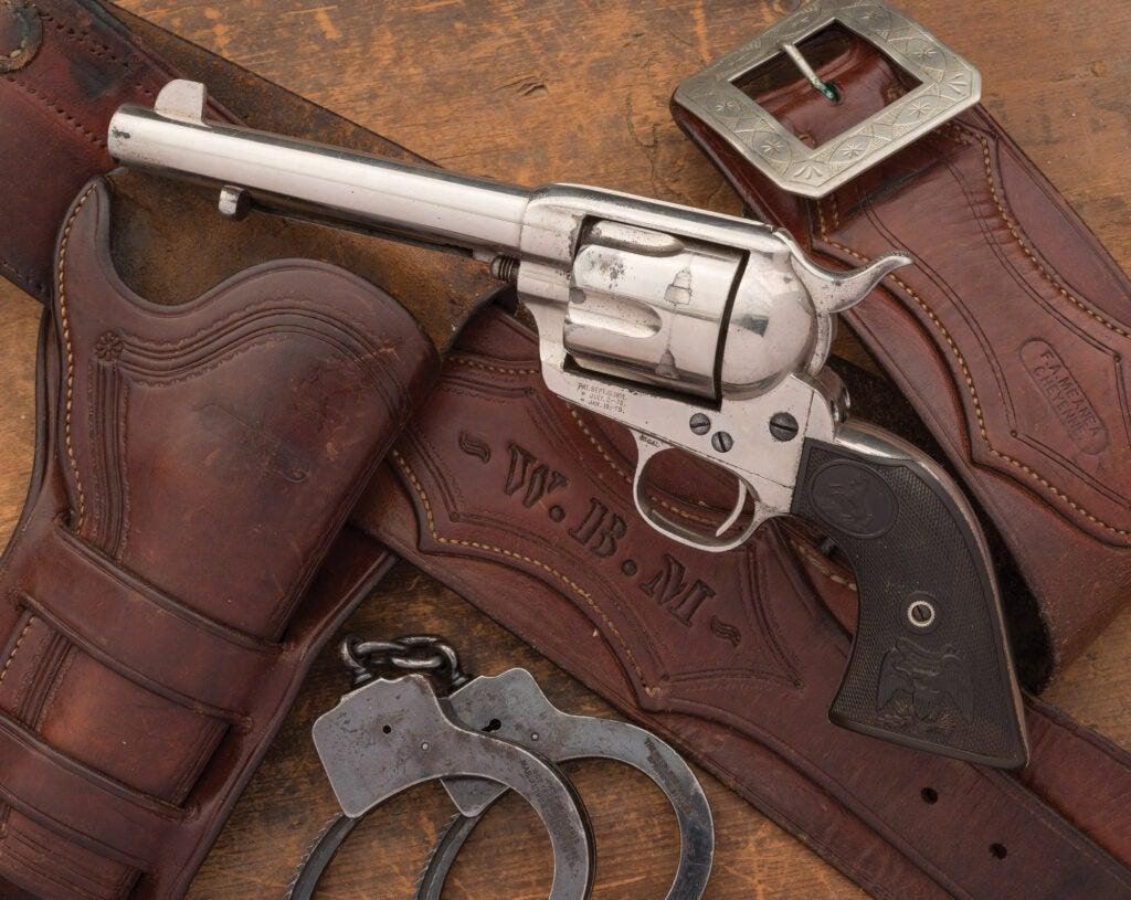 Bat Masterson Colt revolver