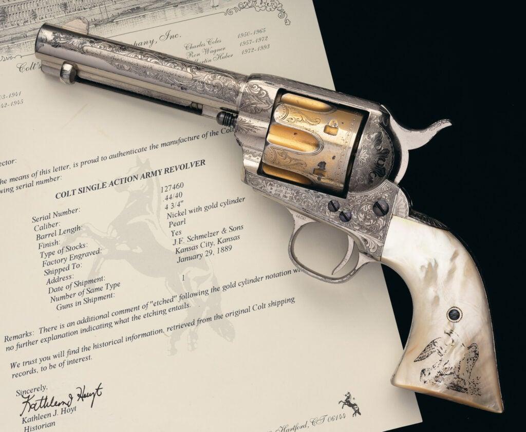 Colt Six Shooter SAA revolver