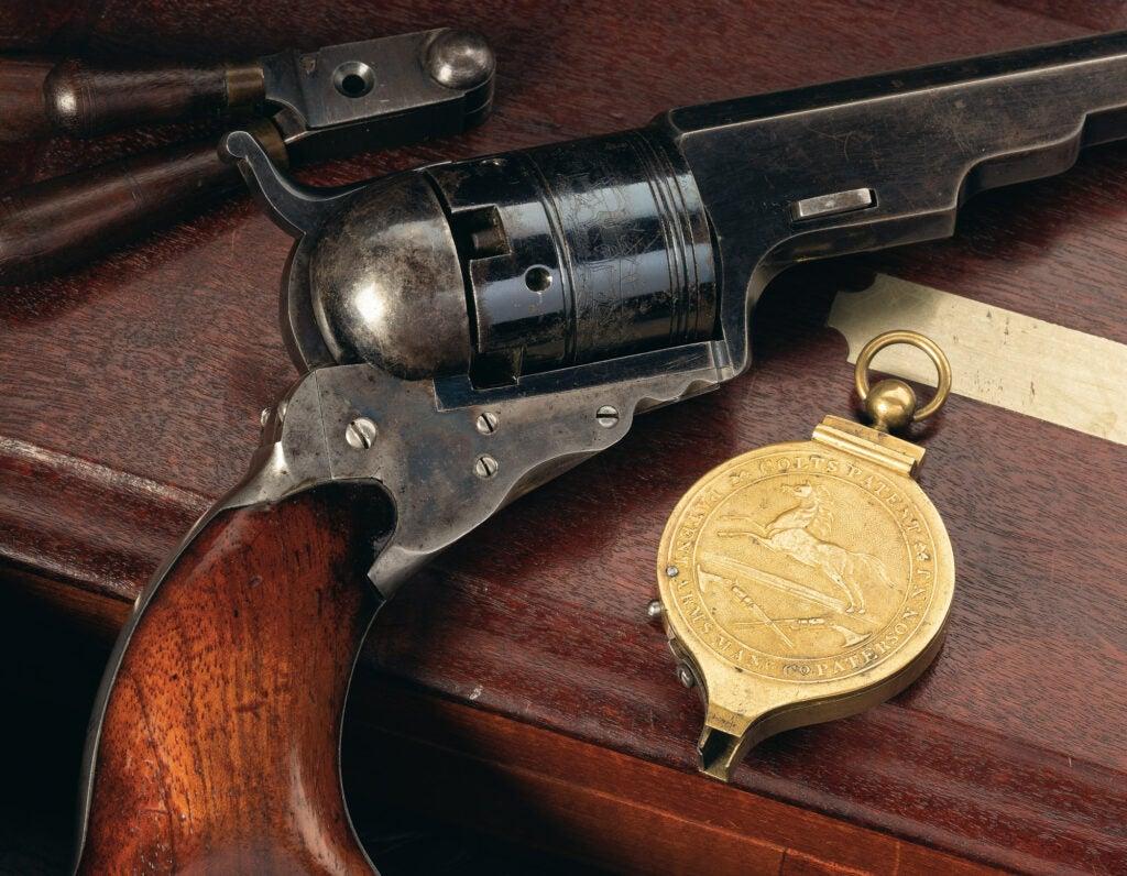 Colt No. 5 Texas Paterson revolver