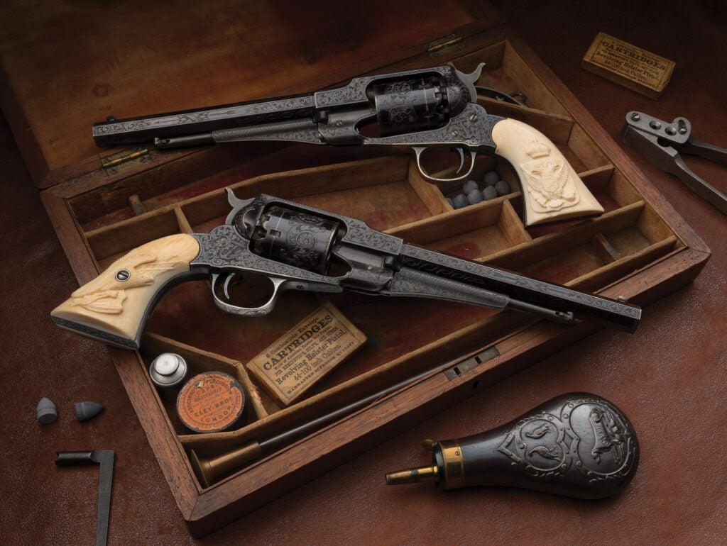 Remington Army revolvers