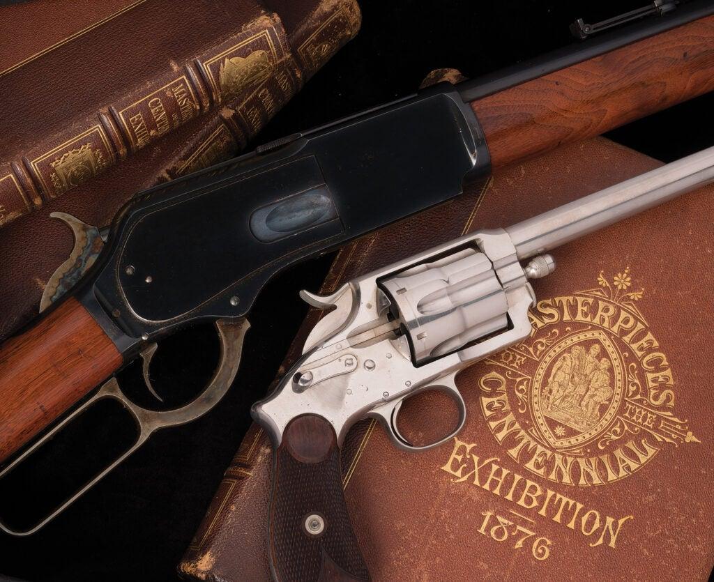 Winchester Centennial revolver