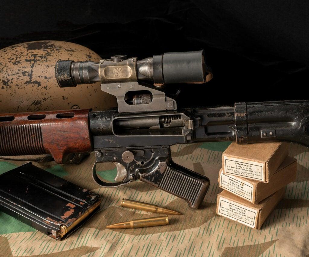 Krieghoff machine gun