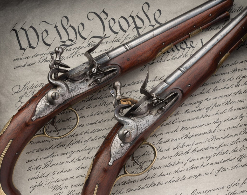 Alexander Hamilton pistols