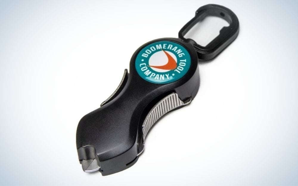 Grey fishing line cutters make the best fishing gifts