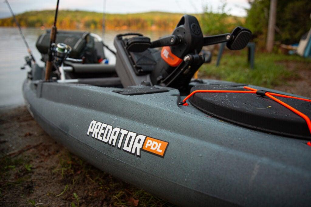 Old Town Predator PDL fishing kayak