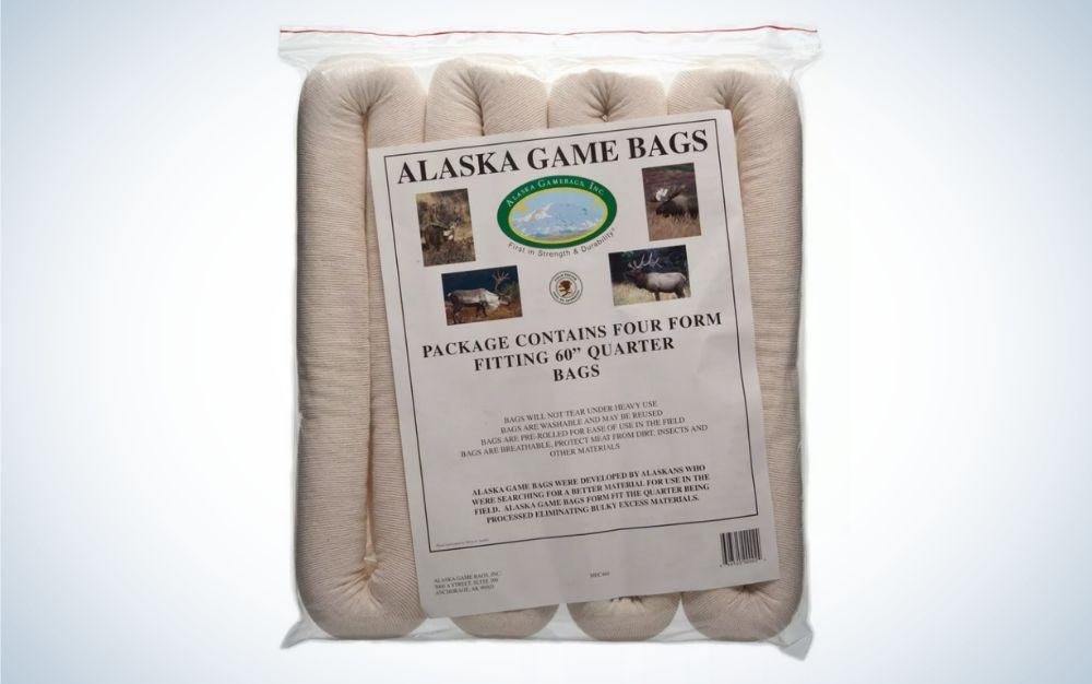 4 pack Alaska rolled game bags are the best gifts for hunters