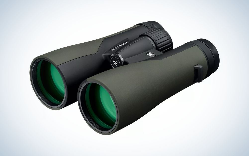 Green and black HD binoculars are the best gifts for hunters