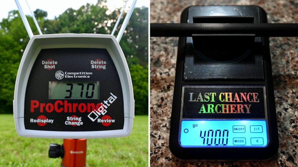 chronograph for barnett hunter str arrows