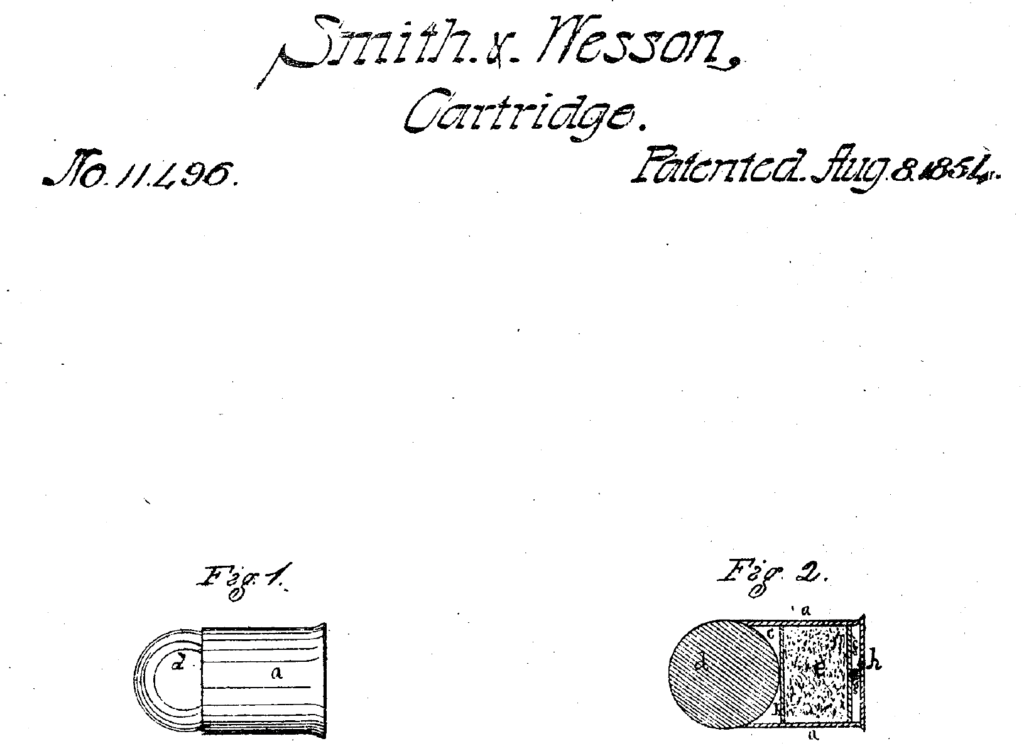 Patent of Smith & Wesson .22 short