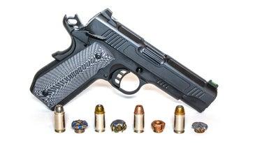 .45 Auto Handgun and ammo