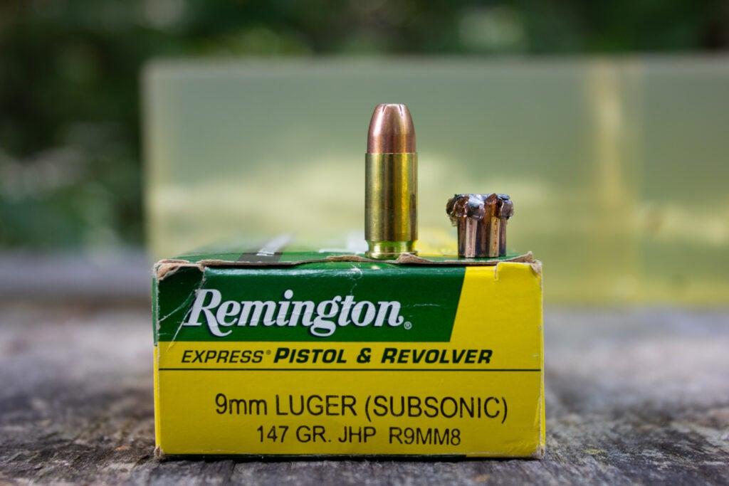 9mm Luger Handgun ammo