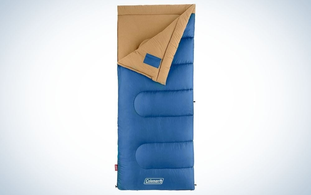 Coleman Brazos 20 are the best sleeping bags on a budget
