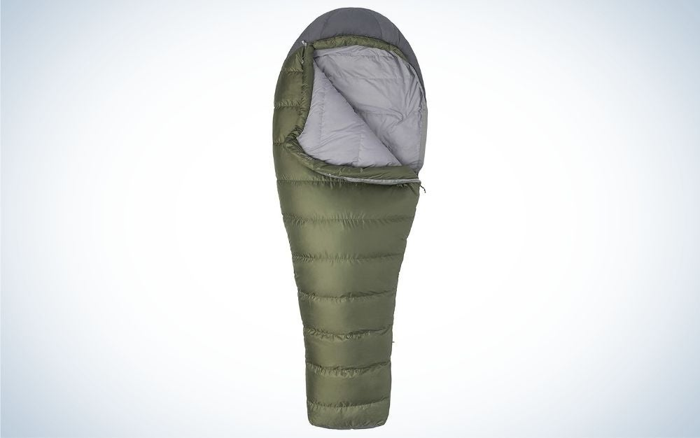 Marmot Ironwood 30 is the best affordable down sleeping bag