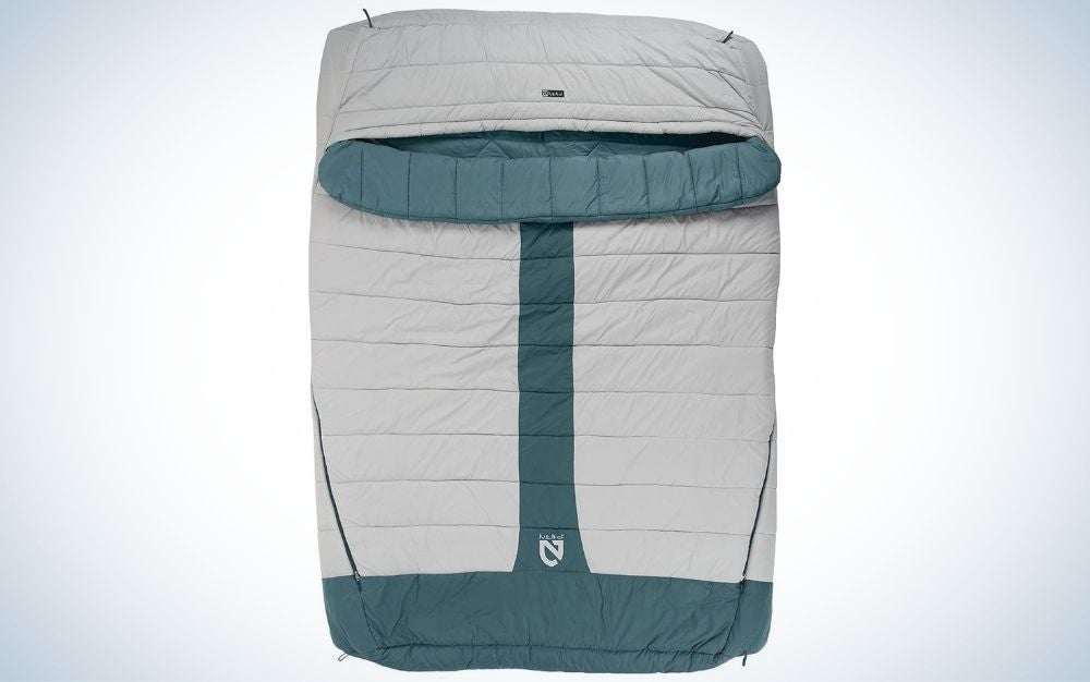Nemo Jazz duo 20 are the best sleeping bags for 2 people
