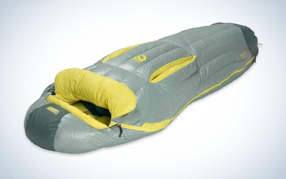Nemo riff is the best down sleeping bag