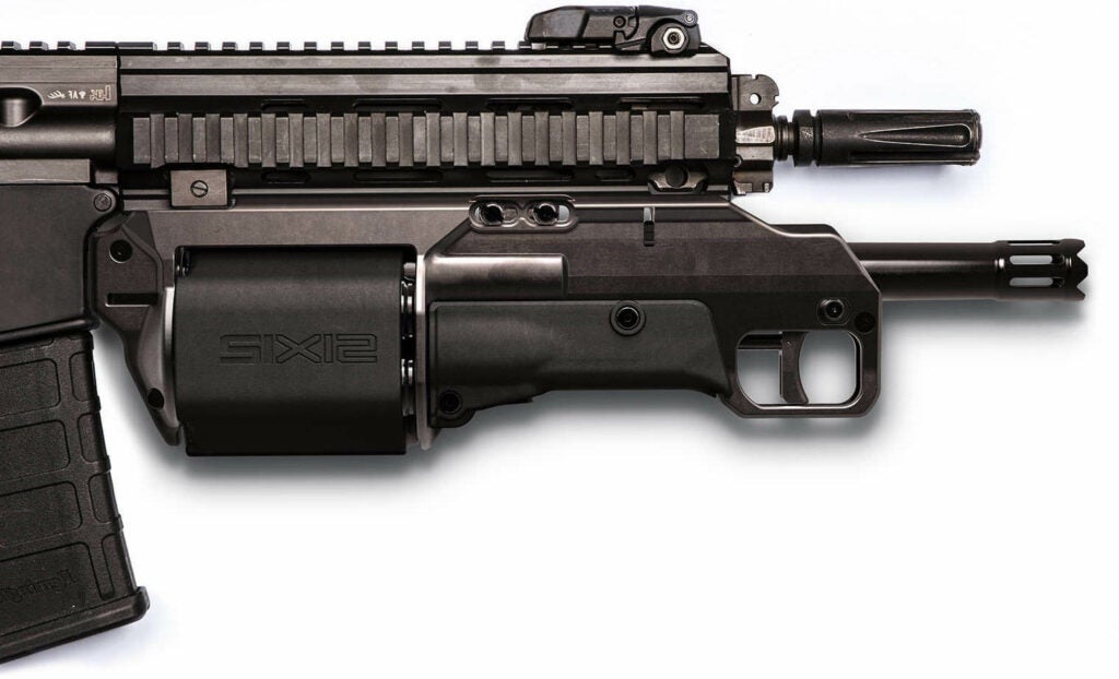 Hunting rifle and combined rifle AR-15.