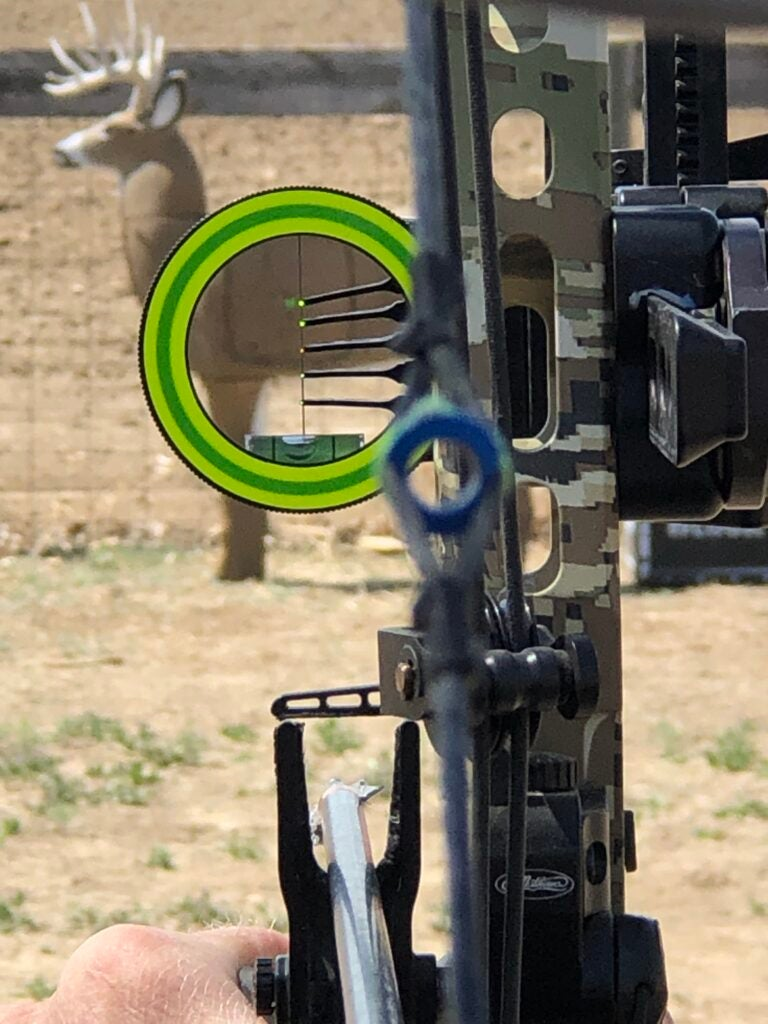 The best compound bow accessories include a bow sight