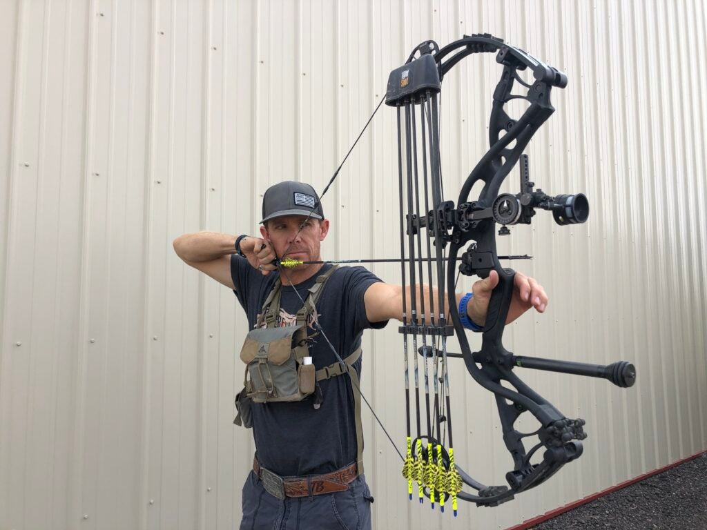 The best compound bow accessories include a bow quiver