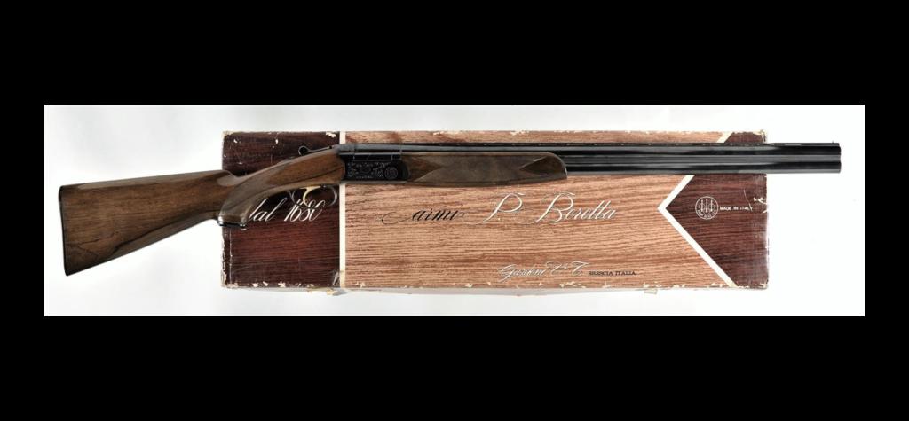 Beretta shotgun.