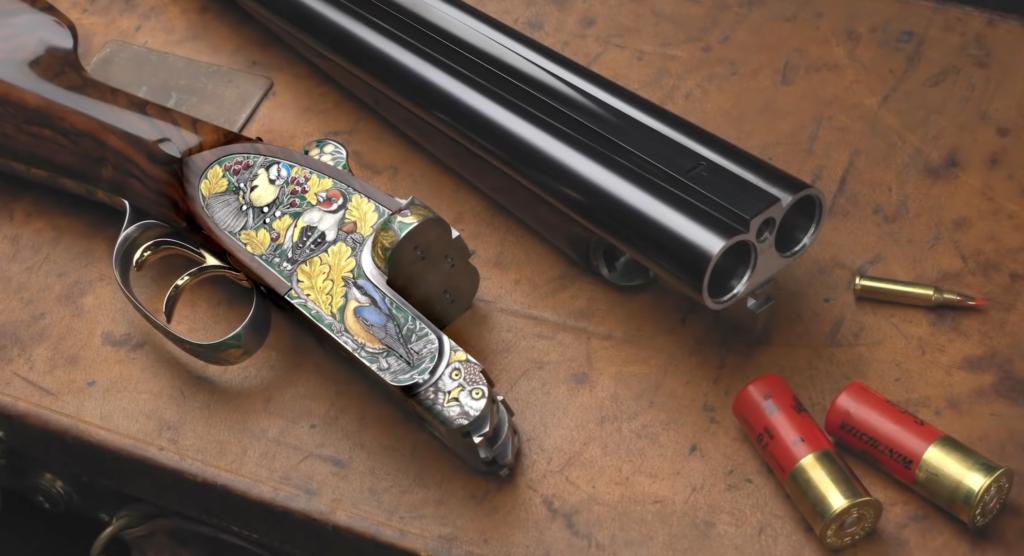 The Peter Hofer Jagdwaffen Autumn drill gun.