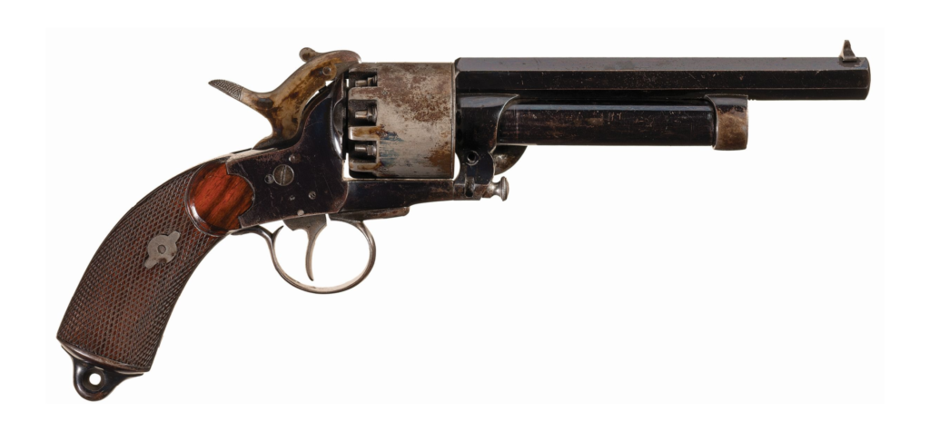 The LaMat revolver combination gun.