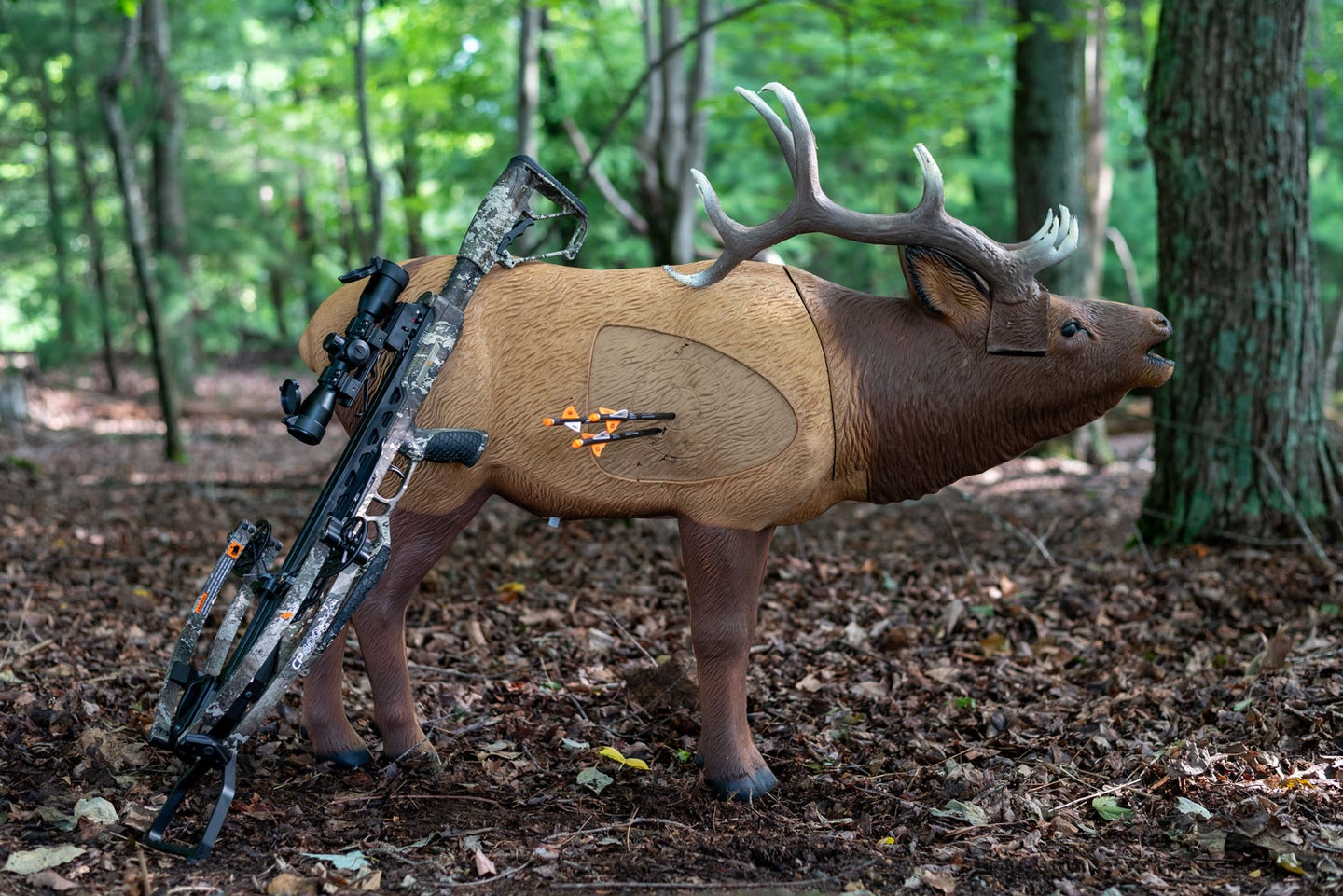 The CenterPoint CP400 crossbow shoots tight groups