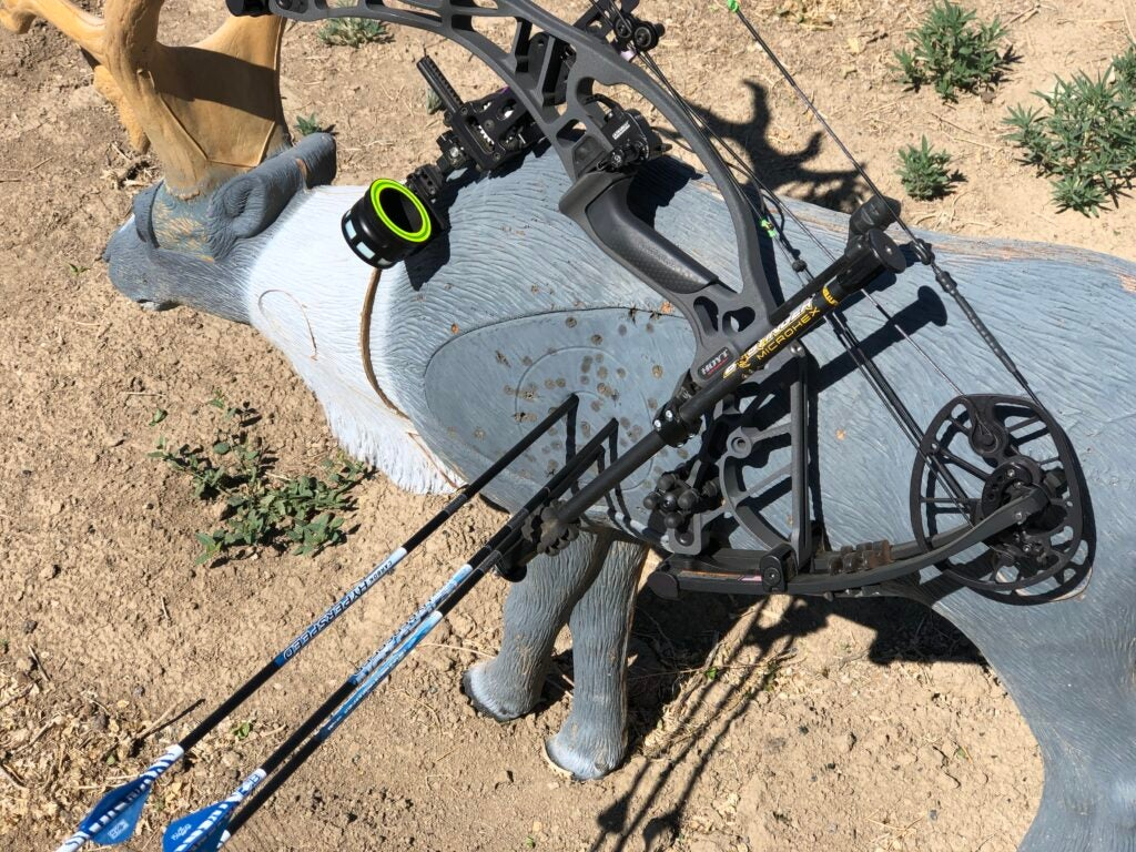 A 3D target and bow stabilizer