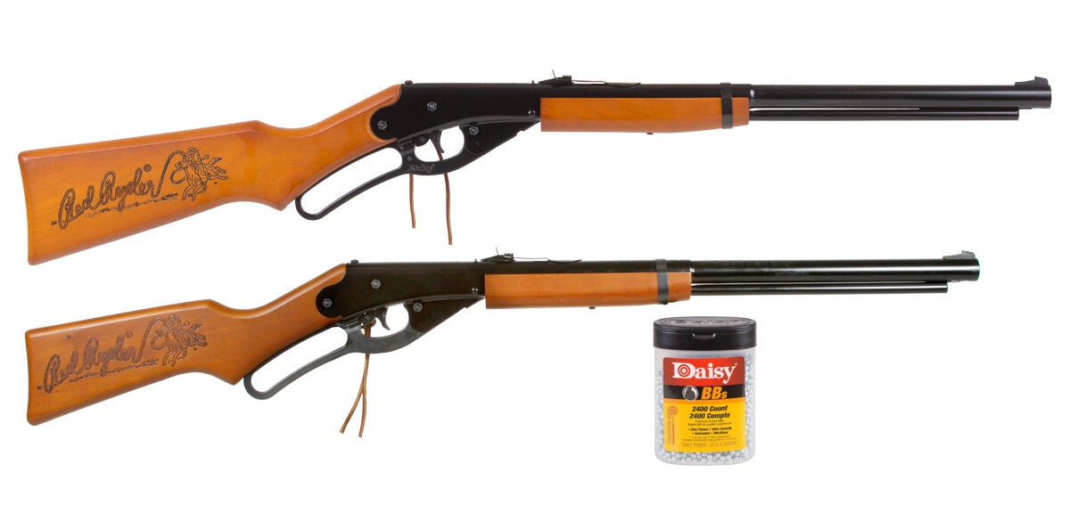 Th Daisy Family Red Ryder Combo is a best bb gun for kids