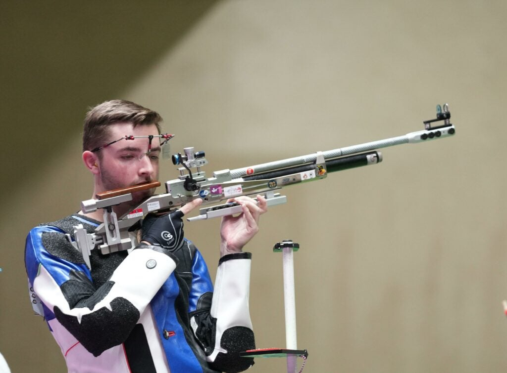 Futuristic Olympic Air Rifles Are in a League of their Own