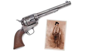 The Colt Revolver that Killed Billy The Kid Is For Sale