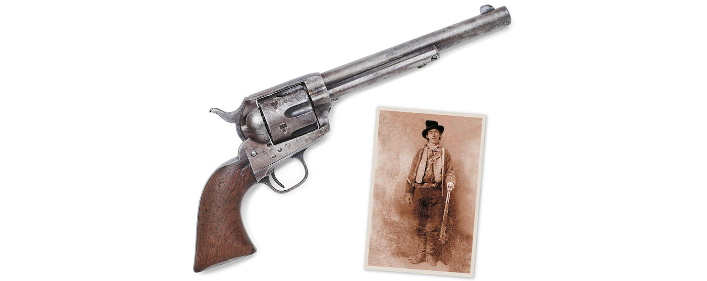 The revolver that killed Billy the Kid.