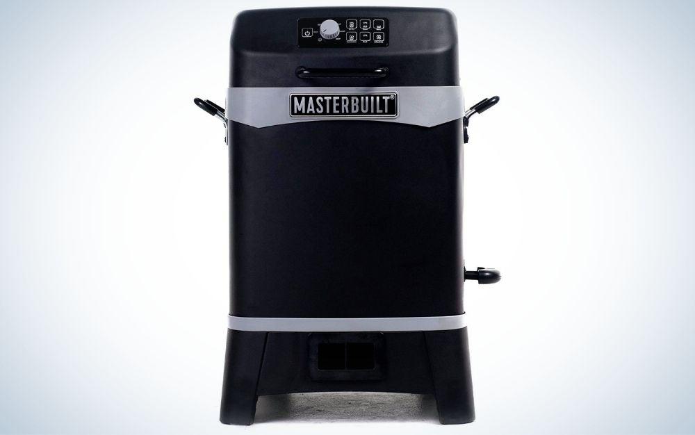 Black, Masterbuilt 6-in-1 outdoor deep fryer