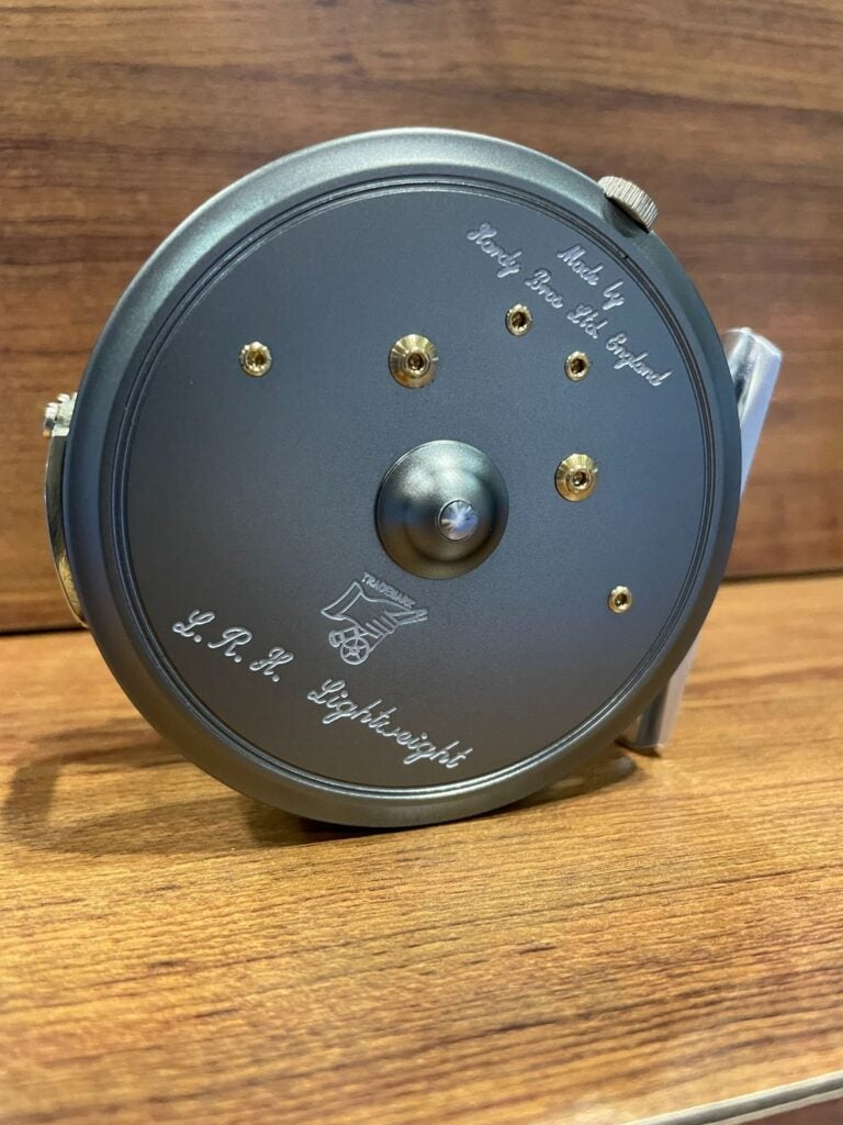 The Hardy 150 anniversary fly reel