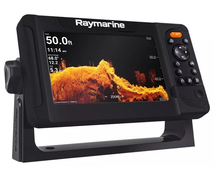 Raymarine Element is the best budget fish finder for kayaks