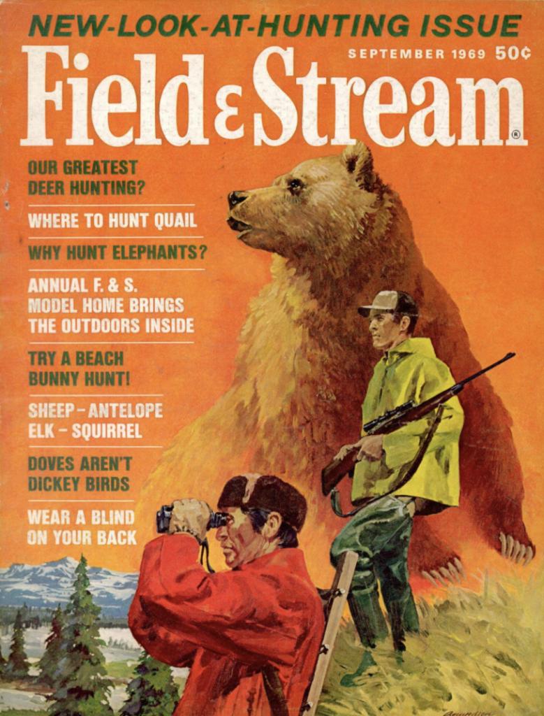 September 1969 cover of Field & Stream