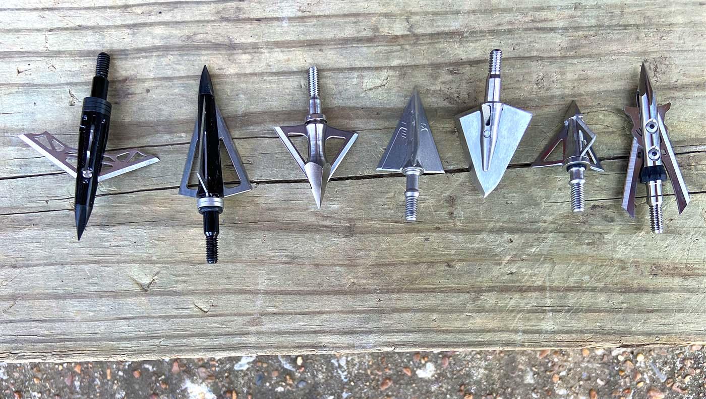 Compound-bow broadheads