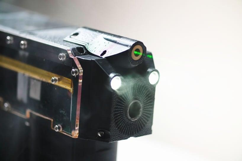 Arcflash labs GR-1 ANVIL Gauss gun muzzle.