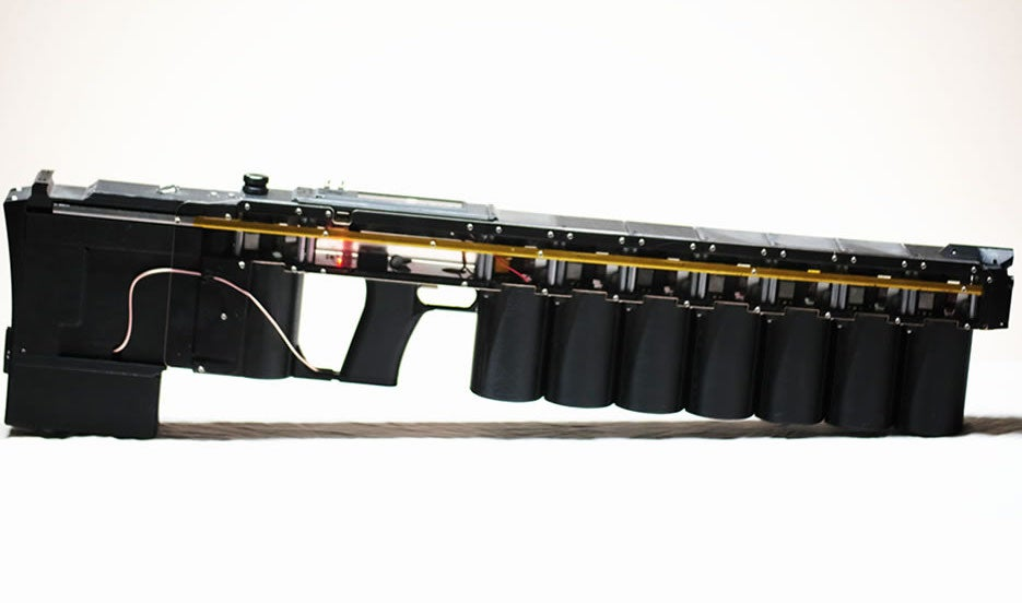 Arcflash labs GR-1 ANVIL Gauss gun.