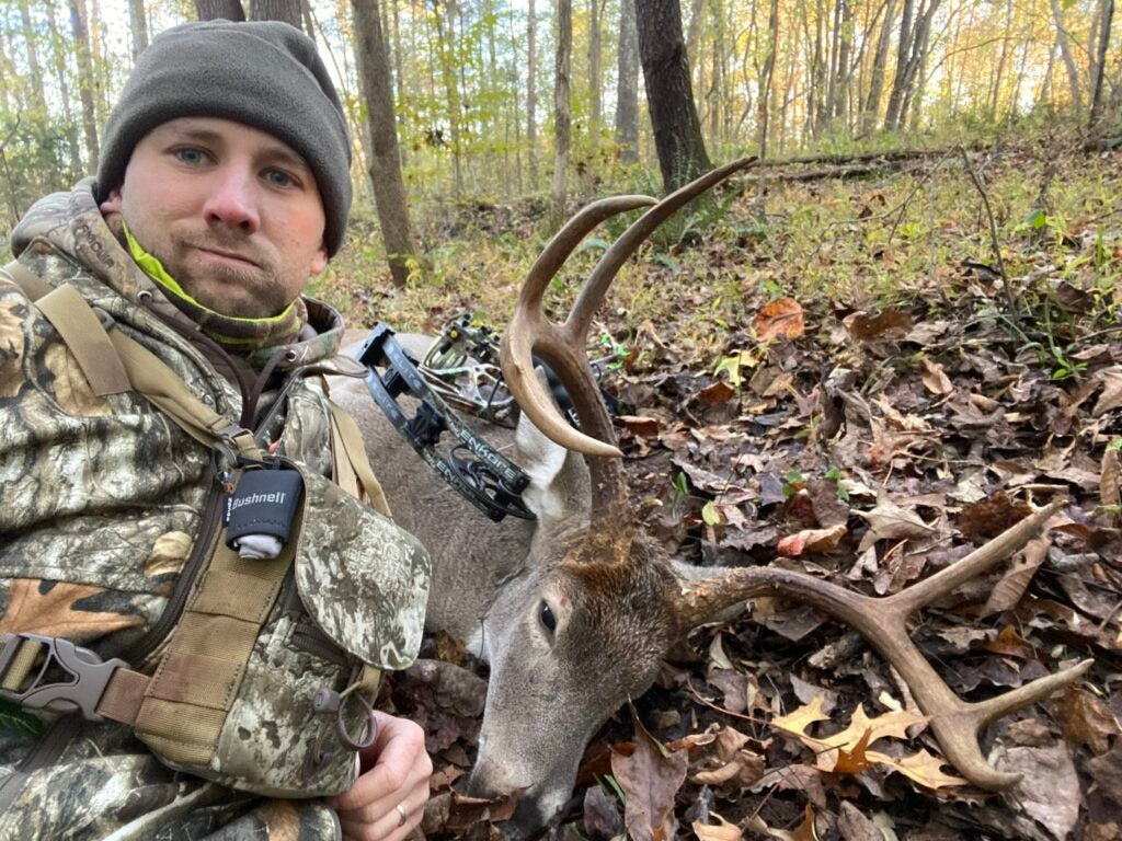 Will Brantley with buck