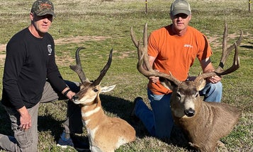Texas Twins Make the B&C Book with Monster Muley and Trophy Antelope